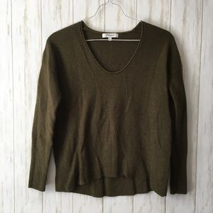 madewell • Olive Green Kimball Pullover Sweater